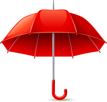 Umbrella Insurance on life insurance policy clip art